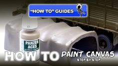 PAINTING CANVAS USING VALLEJO'S PANZER ACES ACRYLICS