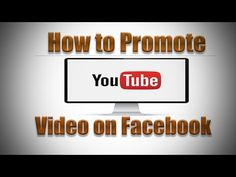 How to Promote YouTube Video on Facebook 2016 -   Social Media management at a fraction of the cost! Check our PRICING! #socialmarketing #socialmedia #socialmediamanager #social #manager #facebookmarketing This video I will show you how to promote YouTube video on Facebook to help draw traffic, this is also a good tip for ranking your video... - #FacebookTips