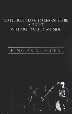 L'exquisite Douleur // Being As An Ocean