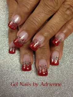 Winter Nail Designs, Nail Tools, Nail Tutorials, Winter Nails, Diy Nails, Christmas Nails, Health And Beauty, Color, Christmas Manicure