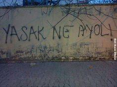 Ich schrieb an die Wand Graffiti - stille Notiz - Graffiti-Liebe # DuvaryazÄ . Good Sentences, Street Graffiti, Neon, Joyce Meyer, Cool Words, Karma, Slogan, Best Quotes, Qoutes