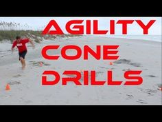 CONE DRILLS done in the Sand at the Beach. Great for training your body to change direction on uneven surfaces. These can also be done at a sand volleyball c. Volleyball Training, Volleyball Workouts, Beach Workouts, Agility Workouts, Agility Training, Training Tips, Sand Soccer, Basketball Mom, High Interval Training