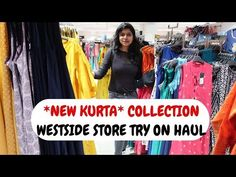 Westside Kurti Haul 2019 (Try on Haul) - Westside Store Tour 2019 in today's video. It is a westside store try on haul with westside collection of kurtis. Also westside kurta new collection with westside kurta try on haul 2019 shared in this video. Westside Kurti, Kurti Collection, Casual Outfits, Fashion Outfits, Try On, Kurtis, Friends Family, Latest Fashion Trends