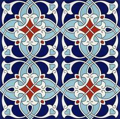 tattoo - mandala - art - design - line - henna - hand - back - sketch - doodle - girl - tat - tats - ink - inked - buddha - spirit - rose - symetric - etnic - inspired - design - sketch Islamic Art Pattern, Arabic Pattern, Turkish Tiles, Turkish Art, Tile Patterns, Pattern Art, Islamic Tiles, Blue Pottery, Motif Floral