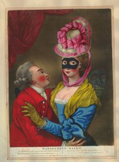 Wantonness Mask'd, 1771
