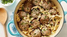 One-Pot Swedish Meatballs with Egg Noodles [tweak]