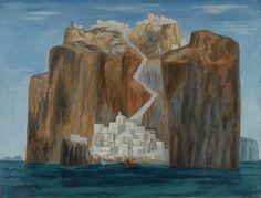 Benaki Museum, Modern Art, Contemporary Art, Greece Painting, European Paintings, Greek Art, 10 Picture, Color Of Life, Conceptual Art
