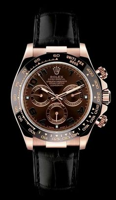 Rolex Daytona (in Rose Gold / Black)