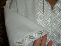 Машинная вышивка на мужской