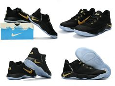 95442440237b 2018 New Nike PG 2 II Black Gold Paul George Shoes New Style