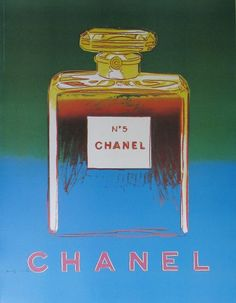 Chanel N.5, by Andy Warhol. Photo Offset printing, made in France, 2005.