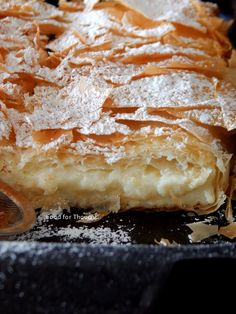 Greek Desserts, Greek Recipes, Greek Pastries, Mediterranean Recipes, Food For Thought, Sweet Tooth, Bakery, Brunch, Dessert Recipes