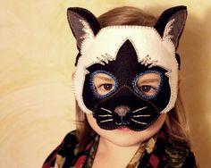 (9) Name: 'Sewing : Cat Mask PDF Pattern