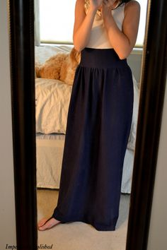 Another great tutorial for a dress, but very easy to convert to a skirt only. (Doesn't require elastic thread on this one)