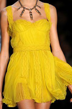 Christian Dior.  Love yellow