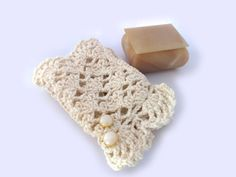 Wedding crochet fingerless mittens Handmade in italian by AMIknit, $24.00