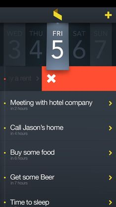 Task Manager App... An app to manage tasks is always welcome and necessary for professionals.