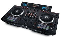 Numark Four-Deck Serato DJ Controller w/ Multi-Screen Display Dj Kit, Serato Dj, Pioneer Dj, Cdj Pioneer, Cctv Security Systems, New Dj, Dj Setup, Professional Dj, Dj Gear