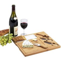 Picnic at Ascot Celtic Cheese Board Set ($33) ❤ liked on Polyvore featuring home, kitchen & dining, serveware, drinks, food, silver, olive fork, cheese dishes, olive dish and picnic at ascot
