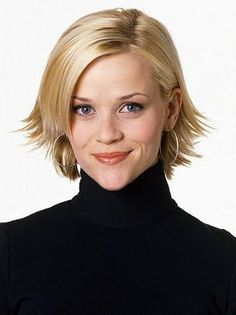 Haircuts For Round Face Shape, Hairstyles For Round Faces, Choppy Hairstyles, Reese Witherspoon Hairstyles, Cut My Hair, Her Hair, Hair Bangs, Short Wavy Hair, Short Hair