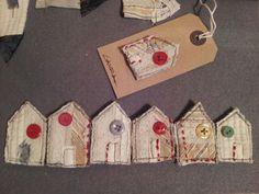 Rag house brooches £6 each p not inc