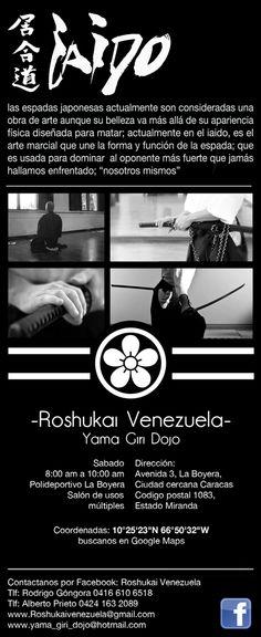 #ArtesMarciales #RoshukaiVenezuela #YamaGiriDojo #iaido