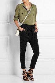 Isabel MarantIgorchic linen-blend tapered pants