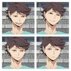 He's beauty, he's grace, he's (put rhyming noun here) Oikawa Tooru, Daisuga, Iwaoi, Kagehina, Me Me Me Anime, Anime Love, Haikyuu, Its Ya Boy, Baby Crows