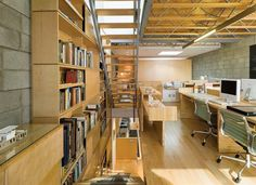 Inspiring Live/Work Spaces - Projects, Home Office, Detail, Live-Work, Outbuildings - residential architect Magazine