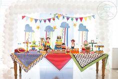 Festa toy story - decoração mini mimo festas