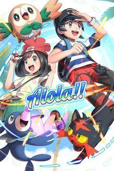 Resultado de imagen de pokemon sol y luna personaje femenino x ash