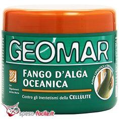 Geomar Fango D'alga Oceanica Contro Gli Inestetismi Della Cellulite. Geomar Fango D'alga Oceanica è un prodotto cosmetico che aiuta a ridurre gli inestetismi della cellulite, anche la più resi...