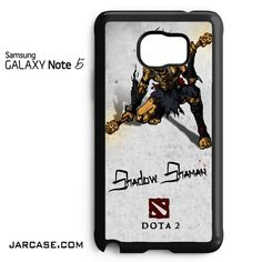 Dota 2 Shadow Shaman Phone case for samsung galaxy note 5 and another devices