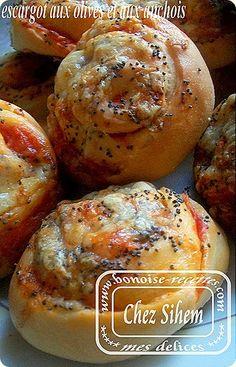 escargots aux olives
