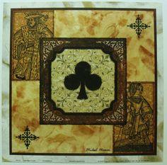 $15.50 Card Games King Queen ART Print Poker Night III Club BY Michael Marcon | eBay #poker #art #bar
