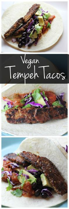 These vegan tempeh tacos are perfect for taco Tuesday! Tempeh is full of vegetarian protein and these tacos will satisfy vegans and meat eaters alike!