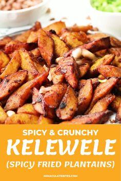 Fried Plantain Recipe, Plantain Recipes, Ripe Plantain, Bread Machine Recipes, Cooking Recipes, Healthy Recipes, Caribbean Recipes, Crockpot, Thanksgiving Side Dishes