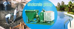 sotcrete pump for building swimming pool, dome tc. could pumping and spraying concrete, mortar, plaster tec. also could be used as grouting pump