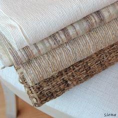 Ven a conocer nuestra nueva colección de sedas rústicas a Casa Siena! Dale un toque chic, natural y elegante a los tapices y cortinas de tu casa www.casasiena.cl