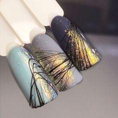 Spider Gel Nails - 100 Nice Ideas and 3 DIY Instructions! - Summer light blue nail polish # nails Informations Abou - Light Blue Nail Polish, Light Blue Nails, Nagellack Design, Nagellack Trends, Fun Nails, Pretty Nails, Nagel Gel, Gel Nail Designs, Gel Nail Art