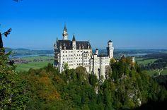 Construction of Neuschwanstein Castle1868-1884 Architect: Eduard Riedel Location:Schwangau, Germany Last Photo byDavid Henderson
