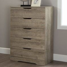 Found it at Wayfair - Holland 5 Drawer Chest 5 Drawer Chest, House Goals, Signature Style, Dresser, Drawers, Cool Designs, Holland, Contemporary, Furniture
