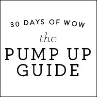 The Pump-Up Guide