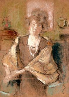 Édouard Vuillard/ Jeune Femme Au Châle