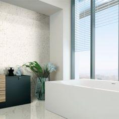 Versilia Calacatta Oro Mosaic Matte 2x2 Porcelain Tile | TileBar.com.
