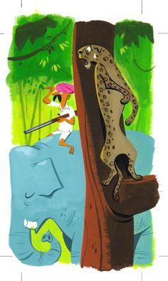 Monocle : Hunting : illustration by Satoshi Hashimoto www.dutchuncle.co.uk/satoshi-hashimoto