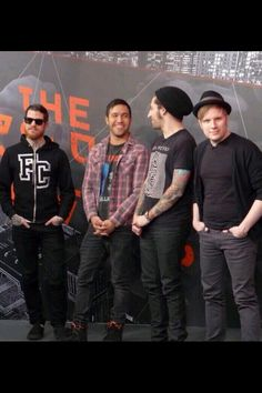 I believe Fall out boy is the most sanest band I've ever seen or heard.