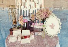 Great Gatsby Themed Wedding #wedding #greatgatsby #bacheloretteandbride