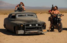 Futuro Finale 2088AD: The vehicles of Wasteland Weekend 2012