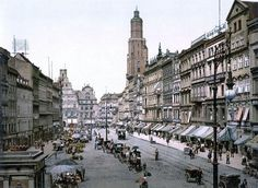 Market Square Breslau, Germany About 1895